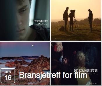 Bransjetreff for film 16. desember Vestfold