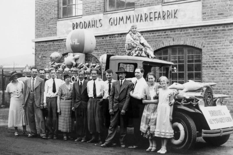 Stort Brodahls gummivarefabrik